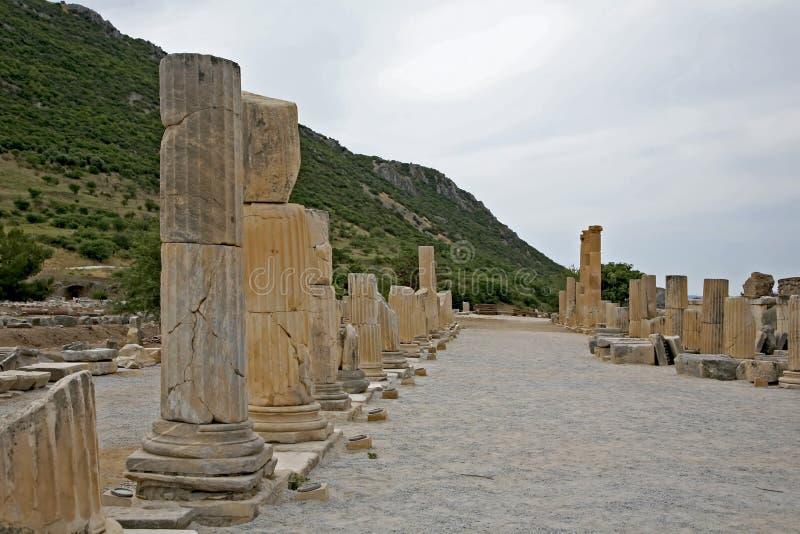 Ephesus alte Stadt lizenzfreies stockfoto