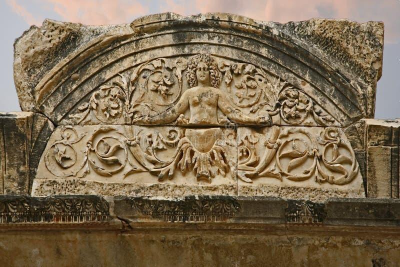 Ephesus alte Stadt stockfoto