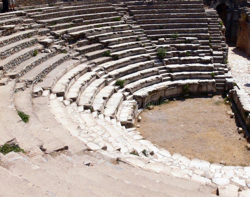 Ephesus antigo da cidade fotografia de stock