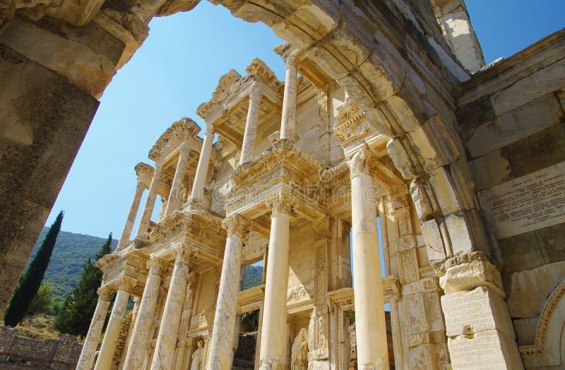 Ephesus antique photo libre de droits