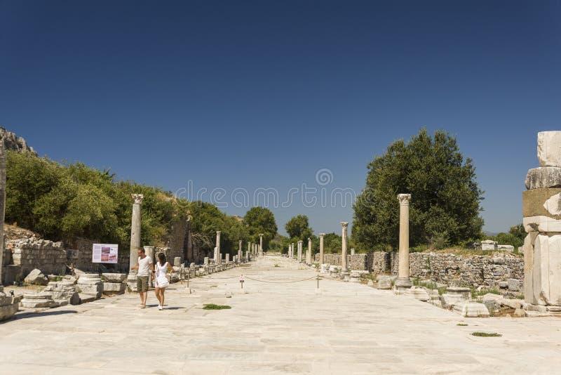Download Ephesus antique de ville photo éditorial. Image du ligne - 77162841