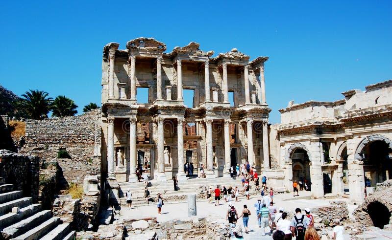 Ephesus Celcius Library. Ephesus, the library of Celcius royalty free stock photography