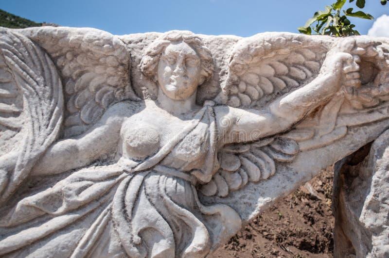 Ephesus (ciudad del griego clásico) fotografía de archivo libre de regalías