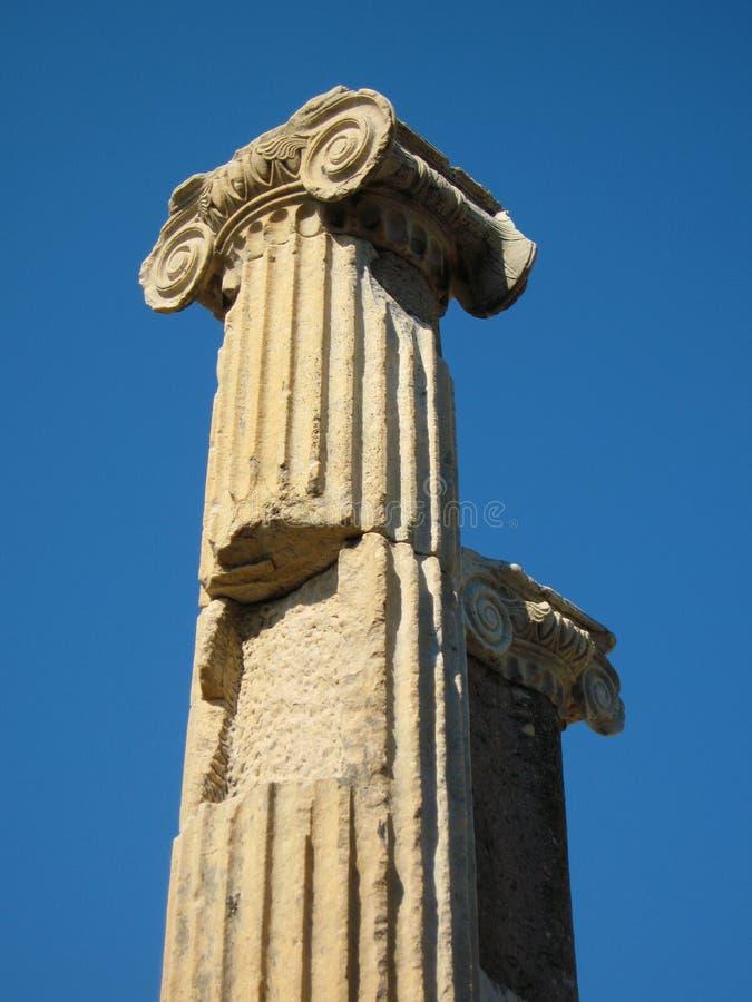 Download Ephesus columns stock image. Image of ruins, greek, asia - 19097245