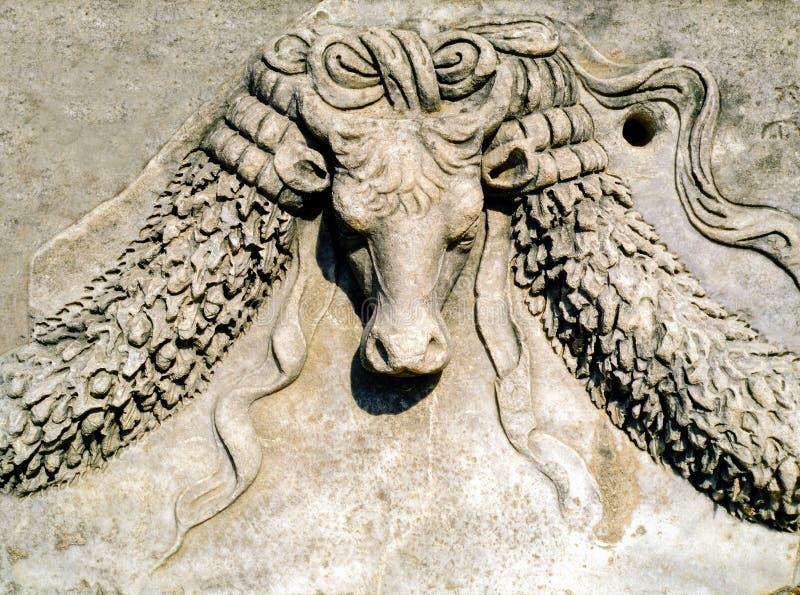 Ephesus detalj royaltyfri bild