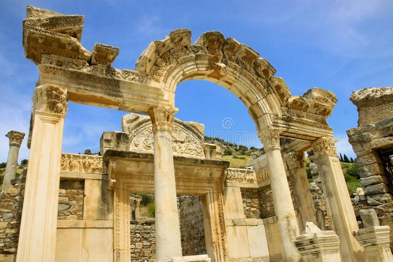 Ephesus die Türkei lizenzfreie stockbilder