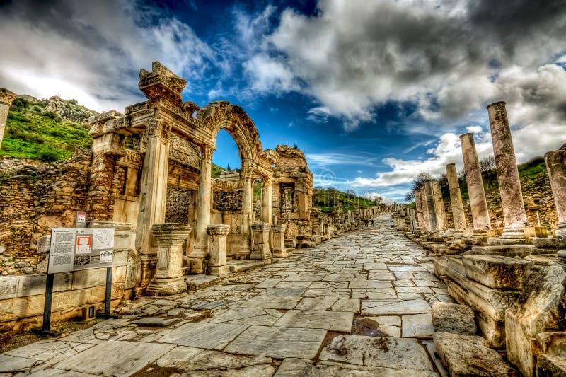 Ephesus, die Türkei stockfotografie