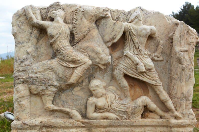 Ephesus em Turquia imagens de stock royalty free