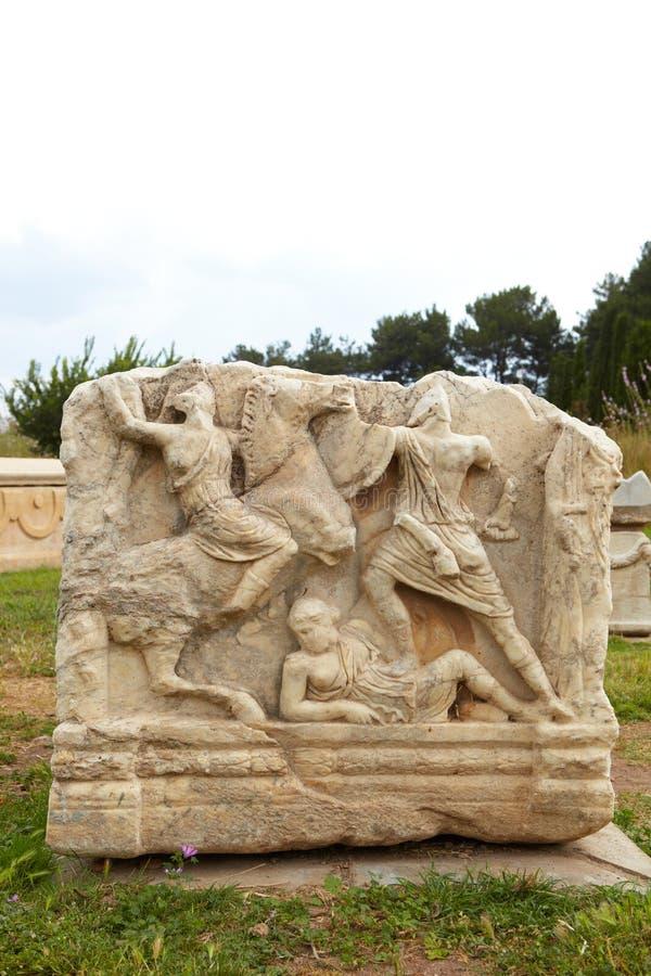 Ephesus em Turquia fotografia de stock