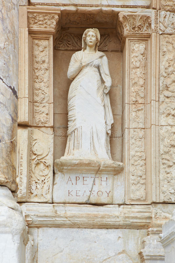 Ephesus en Turquie image libre de droits