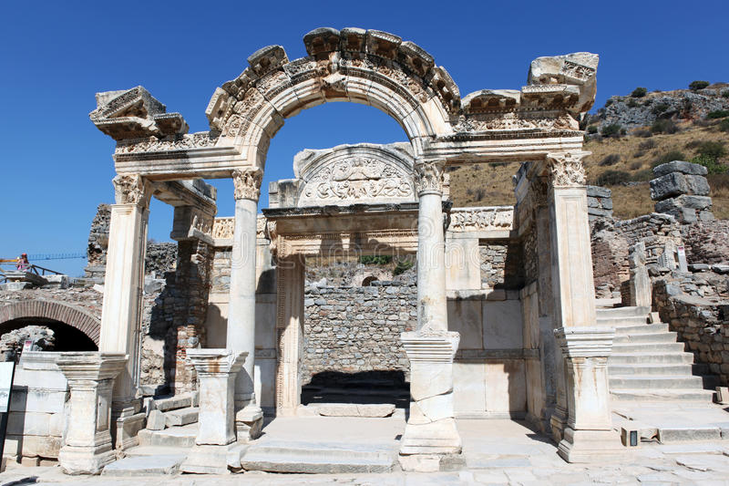 Download Ephesus historical remains stock photo. Image of remains - 27212570