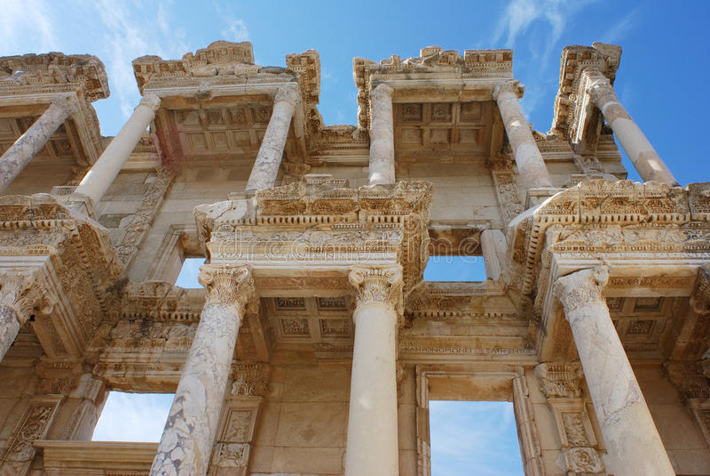 Ephesus Library Stock Photos