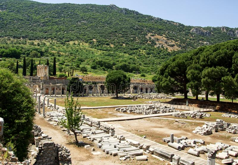 Ephesus photos stock