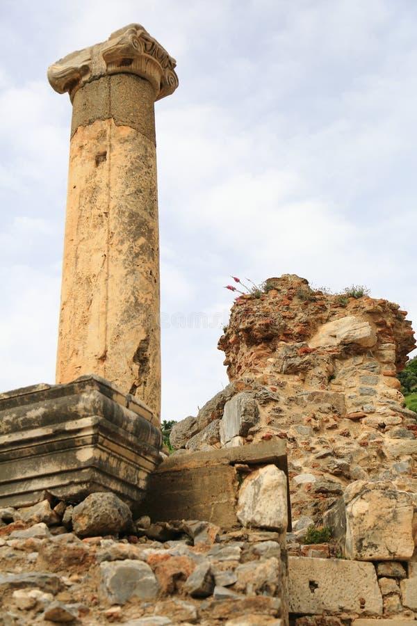 Ephesus relikwie fotografia stock