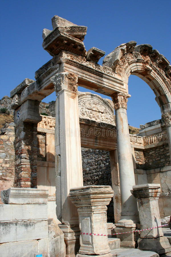 Ephesus Ruins Royalty Free Stock Photo