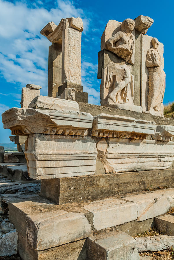 Download Ephesus ruins Turkey stock image. Image of civilization - 28113827