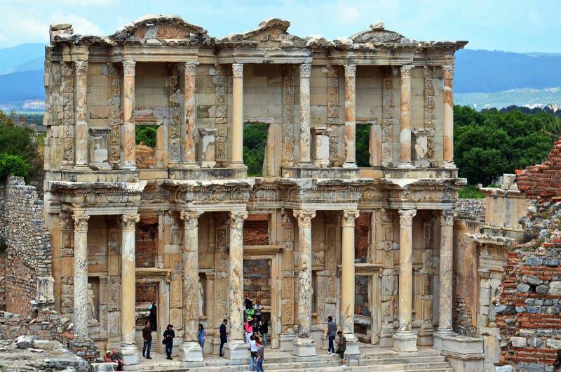 Ephesus - Selcuk, Ä°zmir Turquía foto de archivo