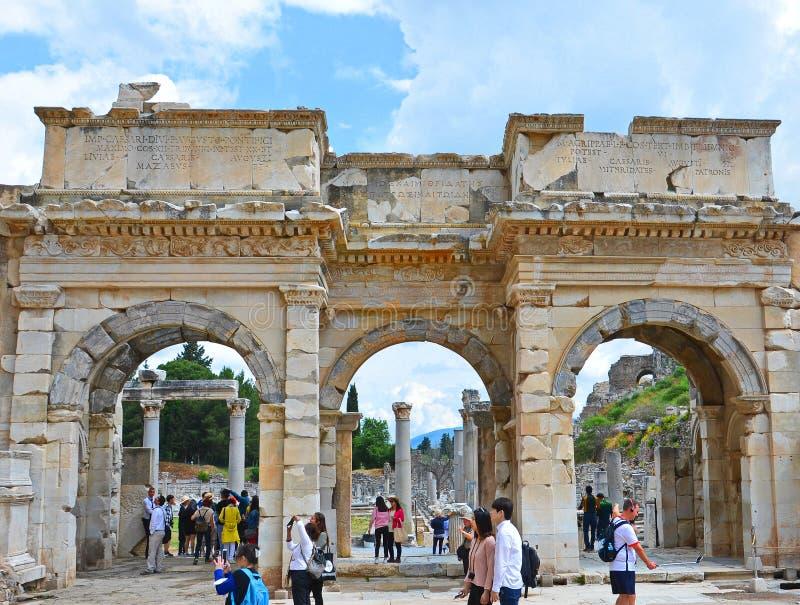 Ephesus - Selcuk, Ä°zmir Turquie photos libres de droits