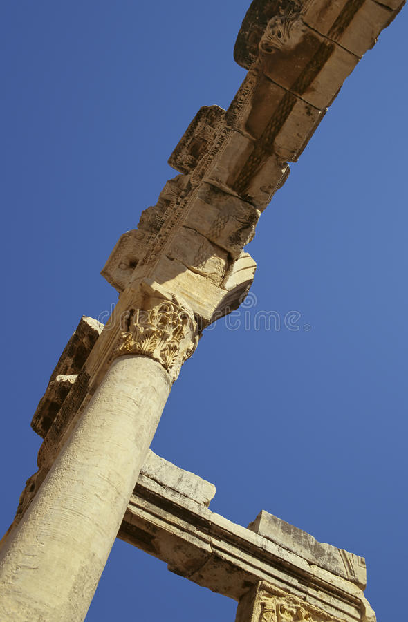Download Ephesus site stock image. Image of arch, marble, history - 11057139