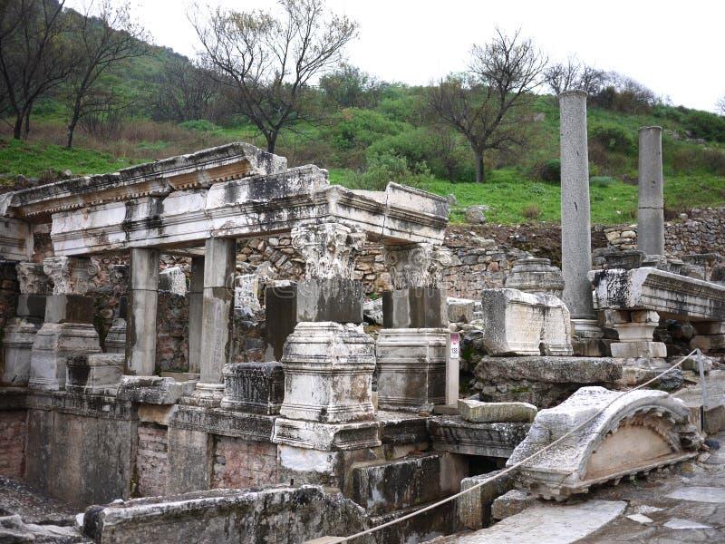 Ephesus rujnuje Turcja zdjęcie stock