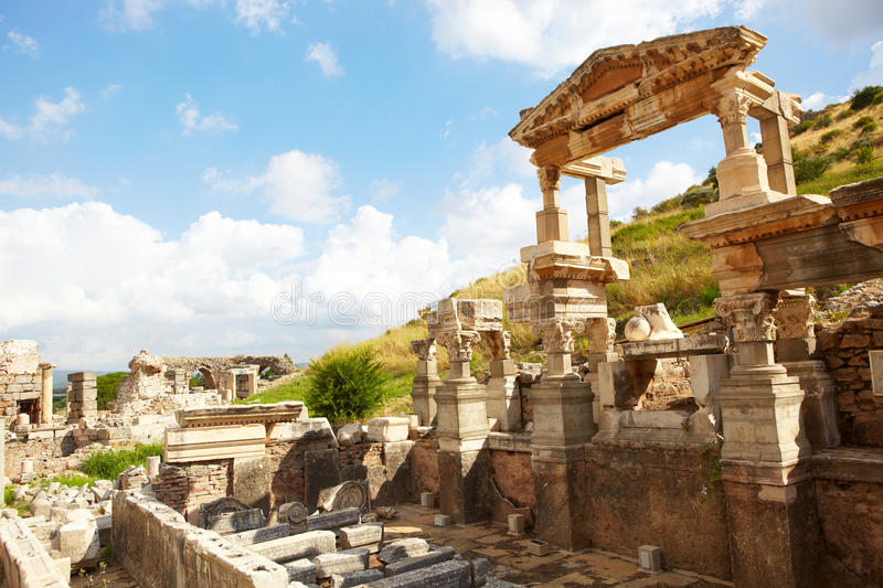Download Ephesus in Turkey stock image. Image of classic, historical - 21224813