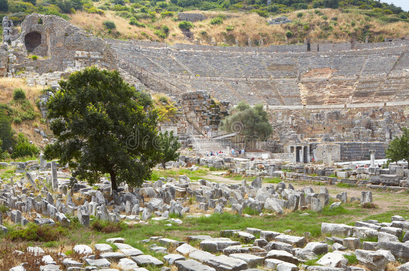 Download Ephesus in Turkey stock image. Image of classical, graves - 21224869