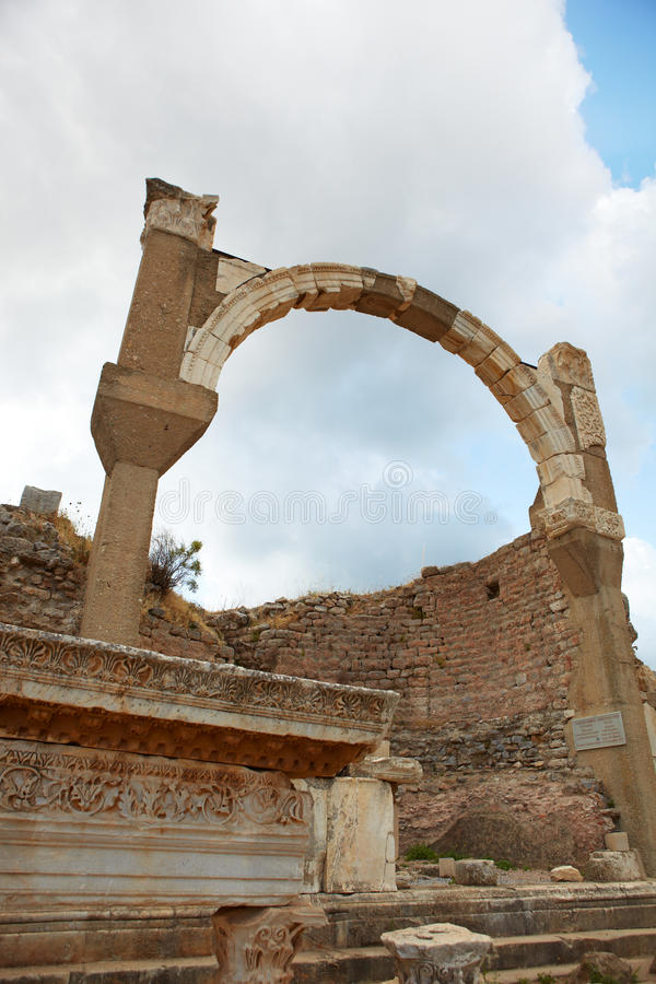 Download Ephesus in Turkey stock image. Image of ruin, tourist - 22475023