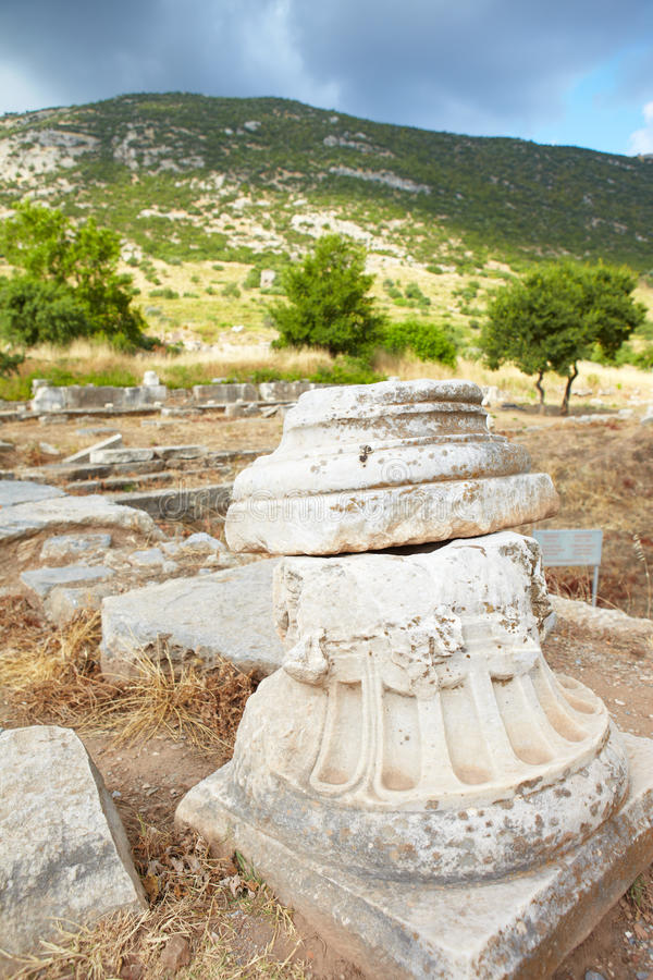 Download Ephesus in Turkey stock image. Image of tourist, hadrian - 22475035