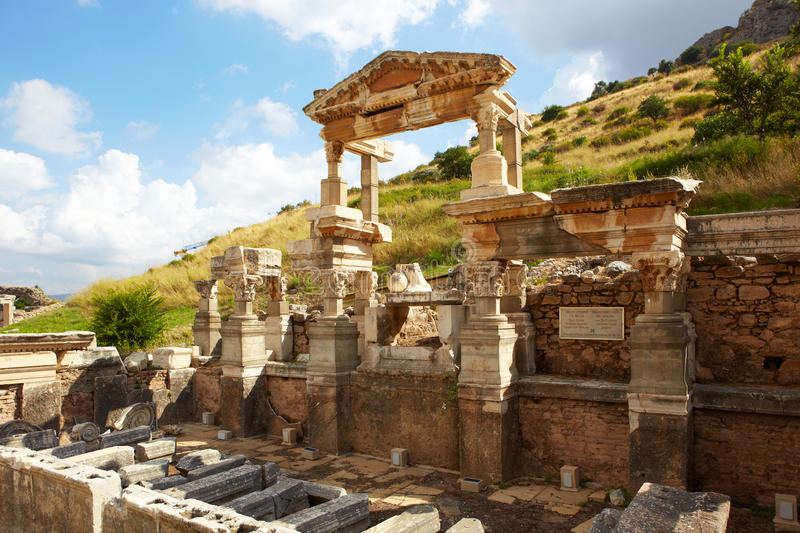 Download Ephesus in Turkey stock image. Image of architecture - 23292447