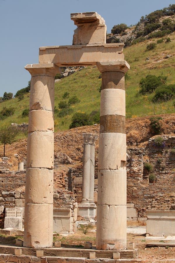 Ephesus Turkey royalty free stock photo