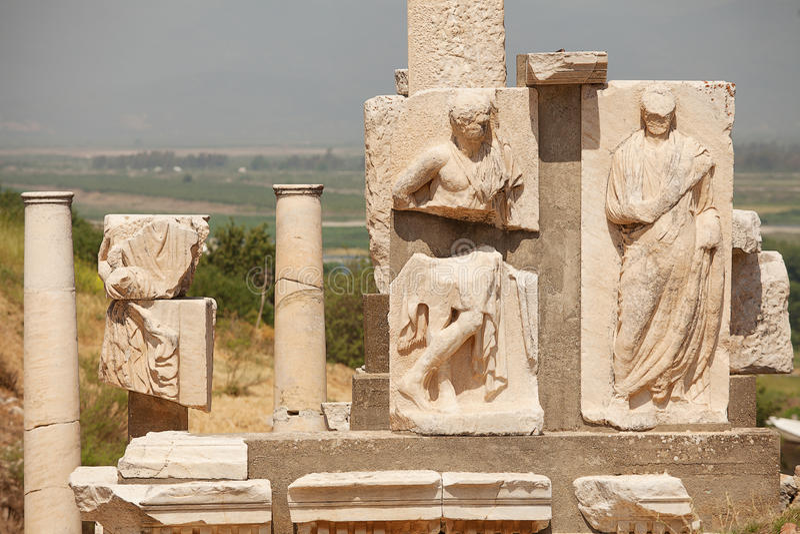 Ephesus Turkey stock photography