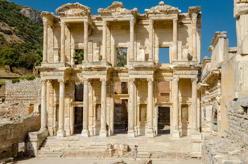 Ephesus, Turkije royalty-vrije stock fotografie