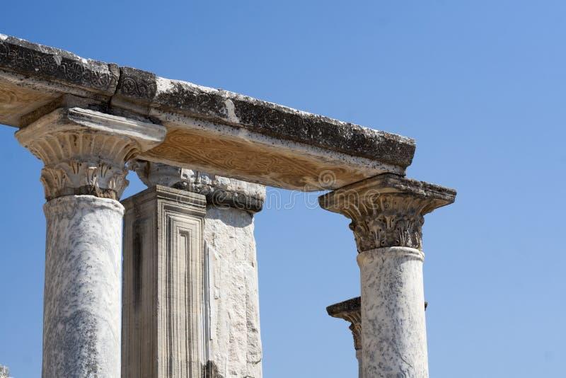 Ephesus in Turkije royalty-vrije stock foto