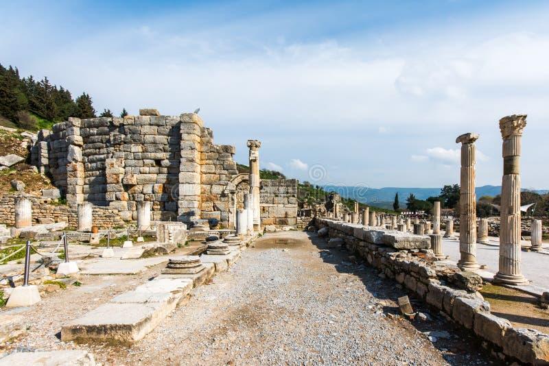 Ephesus, Turquie images stock