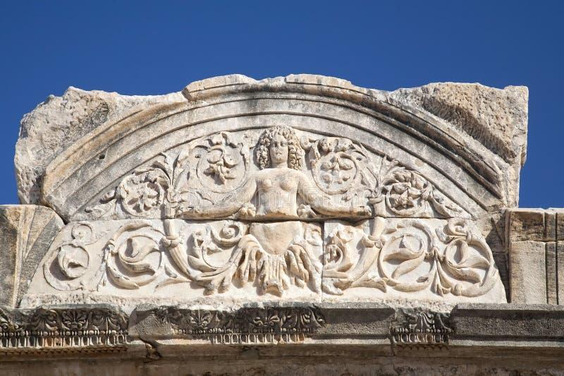 Ephesusmedusa Arkivbild
