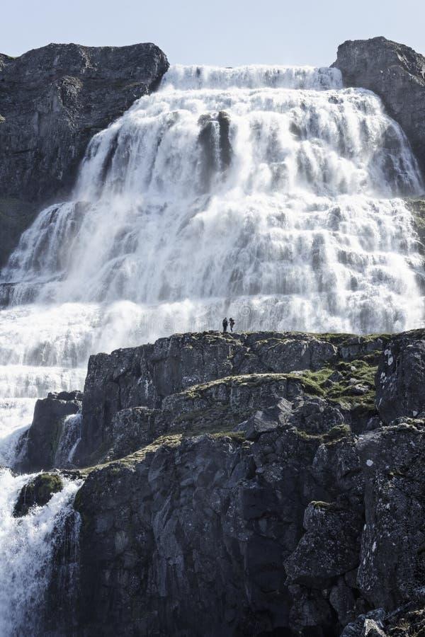 Download Epic Waterfall Dynjandi stock photo. Image of land, remote - 28225566