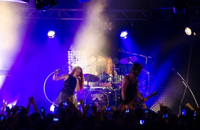 Epica metalu zespół obrazy stock