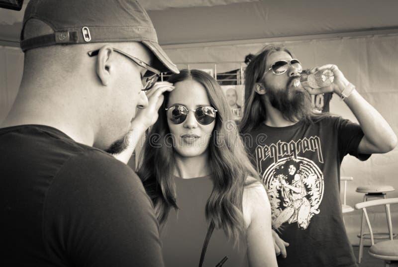 Epica metalu zespół zdjęcia royalty free