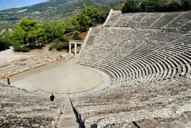 epidaurus Greece zdjęcie stock