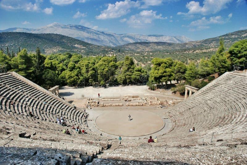 Epidaurus, Greece foto de stock royalty free