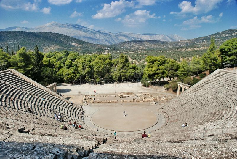 epidaurus Greece zdjęcie royalty free