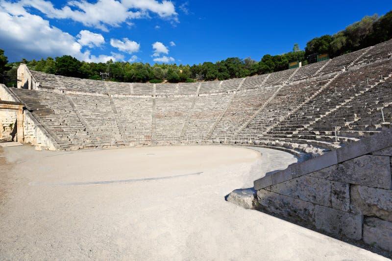 Epidaurus, Griekenland royalty-vrije stock afbeeldingen
