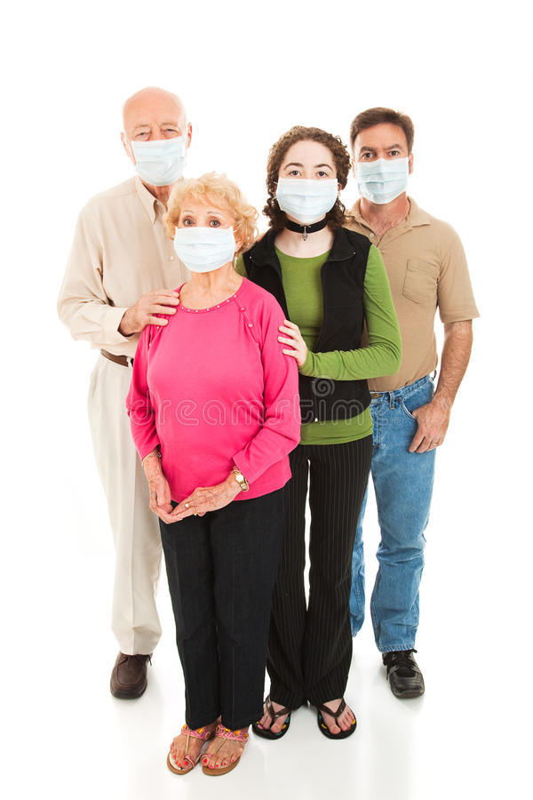 Download Epidemic - Worried Family stock photo. Image of infection - 9582310