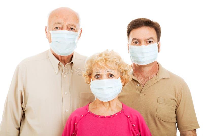 epidemisk läkarundersökning arkivbild