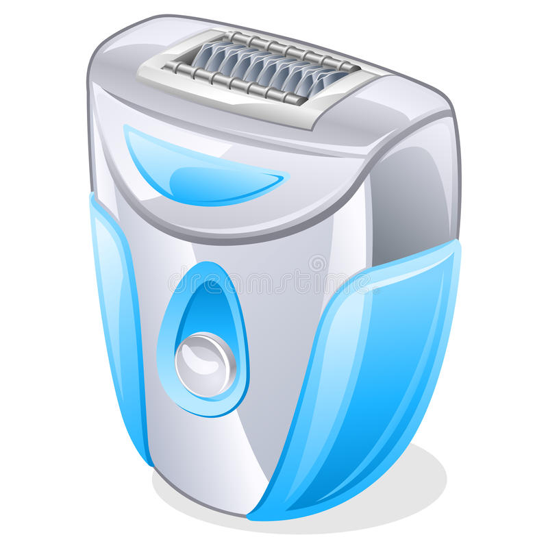 Download Epilator stock vector. Image of reflection, icon, object - 22763143
