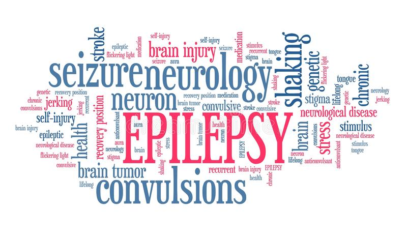epilepsja ilustracja wektor