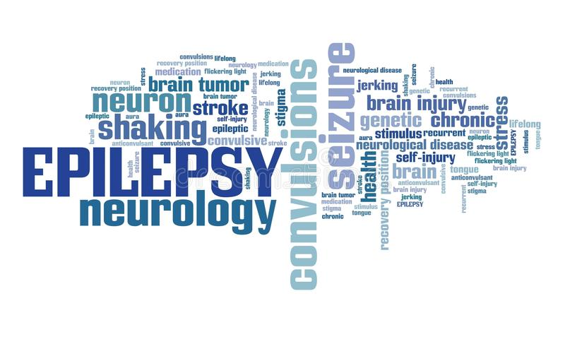 epilessia illustrazione di stock