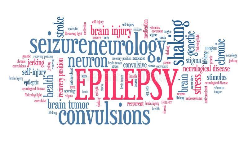 epilessia illustrazione vettoriale