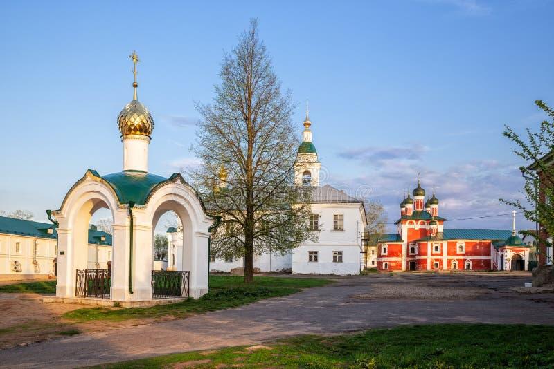 Epiphany Monastery in Uglich stock photo
