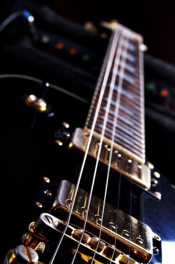 epiphone na gitarze les Paul zdjęcie stock